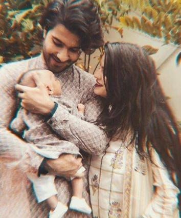 Baby Sultan, wife Alizey wish Feroze Khan on birthday