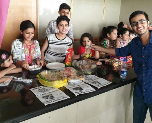 'WhizKids' Children organize Bake Sale food festival at Arfa Software Technology Park organized