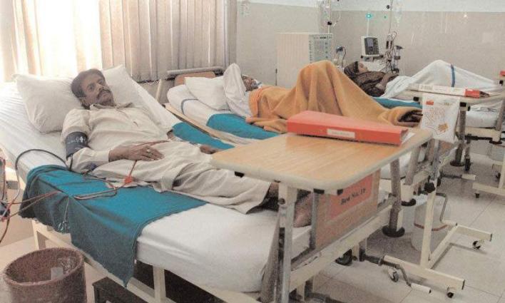 Acting Mayor Karachi visits Landhi Cardiac Centre