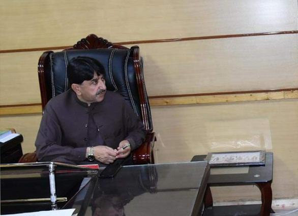 Minister instructs officials for provision of facilities to masses in Kohlu
