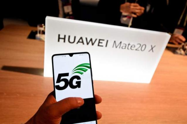 China's Huawei unveils 1st 5G smartphone in Kuwait