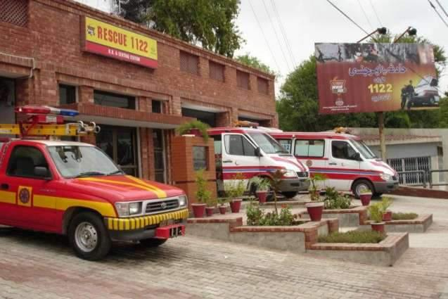 Rescue-1122 provids services to 852 accidents