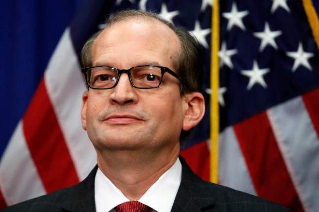 US Labor Secretary Acosta Announces Resignation Over Epstein Case