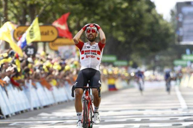 Cycling: Tour de France stage 8 results