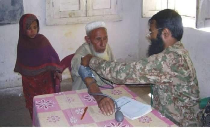Rangers set up free Medical Camp