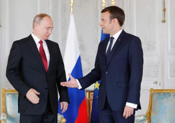 Putin, Macron Discuss Syrian Conflict, Ukrainian Crisis, Iranian Deal Over Phone - Kremlin