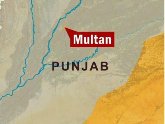 Two rescuers injured in road accident in Multan