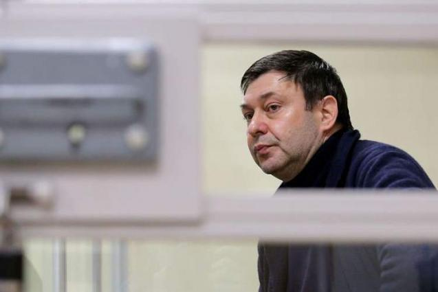 Russia to Continue Pressuring Kiev to Release Vyshinsky - Foreign Ministry