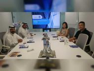 Chinese delegation, Sharjah Research, Technology and Innovation P ..