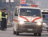 Three killed,three injured in road mishap in Sargodha