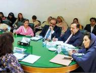 IPC Minister chairs NFS women wing meeting