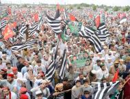 Pakistan Tehreek-e-Insaf (PTI) holds rally to observe black day
