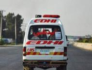 Two killed on road in Faisalabad