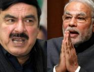 Modi is man of mad thinking: Sheikh Rashid