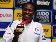 France's Agbegnenou completes world judo hat-trick