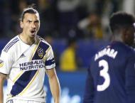 Solskjaer laughs off talk of Ibrahimovic return