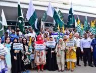 University of Karachi observes Kashmir Solidarity Hour