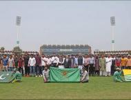 PCB observes Kashmir solidarity Hour