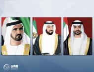 UAE leaders congratulate Kyrgyzstan President on National Day