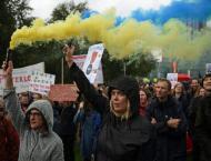 Britons protest Johnson's Brexit 'coup' move