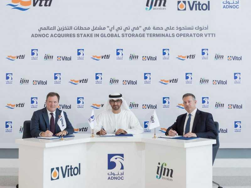 ADNOC Acquires 10% Stake In Global Storage Operator VTTI - UrduPoint