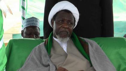 رئیس المنظمة الاسلامیة في نیجیریا ابراھیم یعقوب زکزکي یعود من الھند بدون العلاج في المستشفیات الھندیة