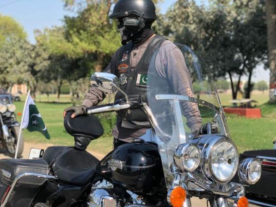 Iran bound peace & friendship bikers rally reaches Multan