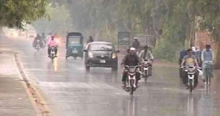 Weather turns pleasant after rain in Multan