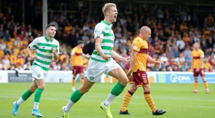 Celtic crash five past Motherwell