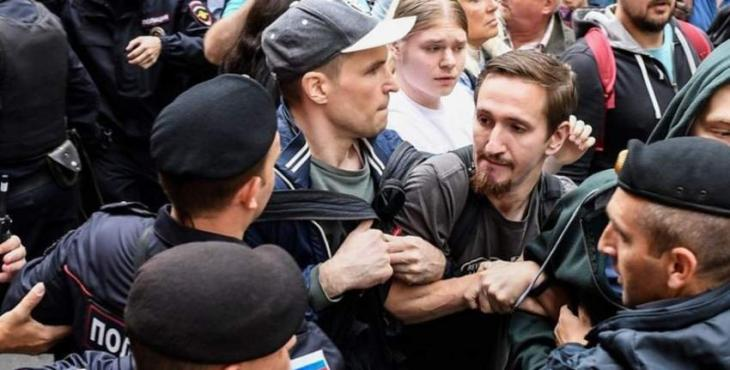 Russia arrests dozens after Moscow opposition rally: AFP