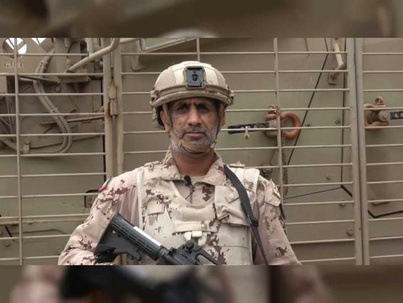 جنودنا البواسل المرابطون في اليمن يهنئون القيادة وشعب الإمارات بعيد الأضحى المبارك