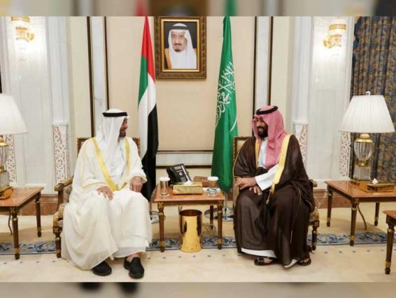 Mohamed bin Zayed, Mohammed bin Salman discuss latest regional challenges