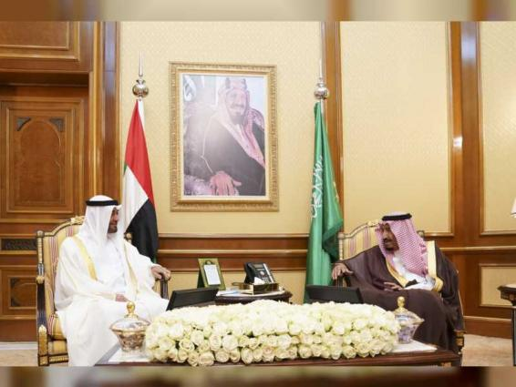 Saudi King, Mohamed bin Zayed discuss regional developments