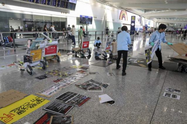 Hong Kong Airport Back to Normal Operation After Protests - Reports