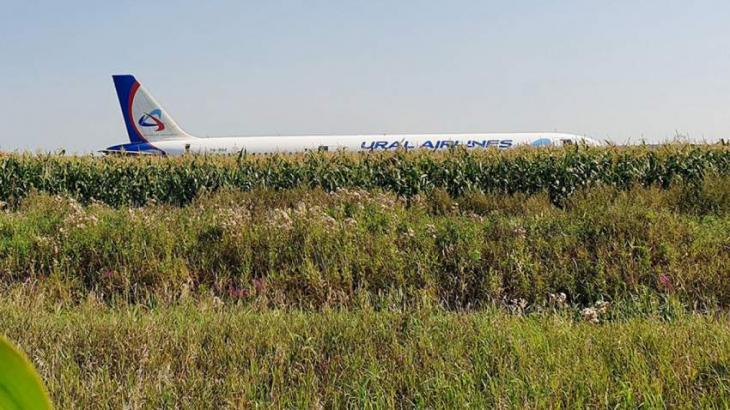 Crew of Russia's A321 Plane Grounded After Hard Landing in Moscow Region - Ural Airlines