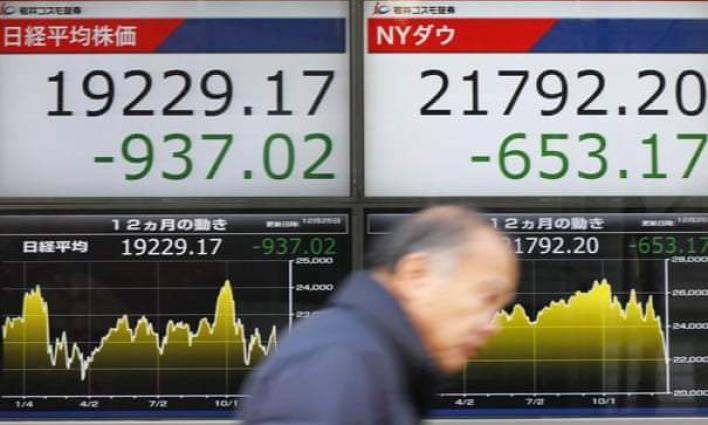 Tokyo's Nikkei opens down nearly 2% after Wall Street rout