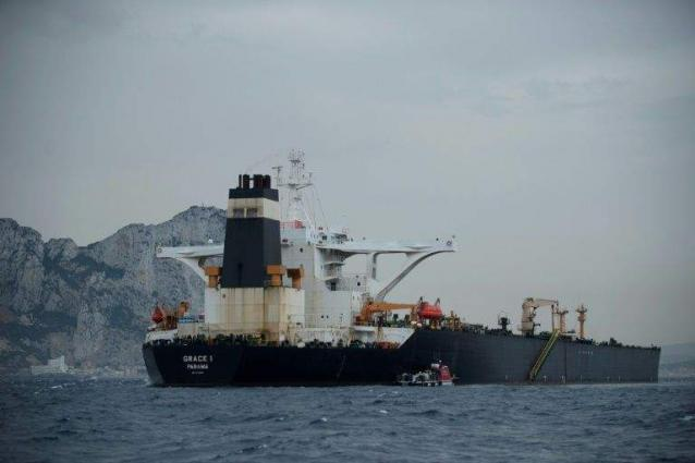 US asks Gibraltar to keep Iranian tanker in detention: govt lawyer