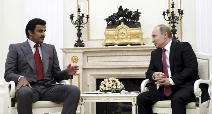 Putin, Qatari Emir Discussed Stability, Security in Persian Gulf by Phone - Kremlin