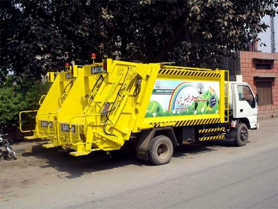 Faisalabad Waste Management Company (FWMC) lifts over 14,594 ton waste of sacrificial animals during Eid