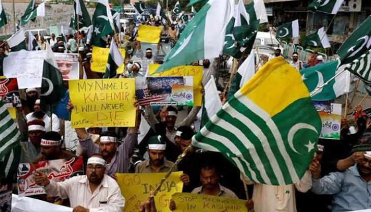 PHA stages rally to express solidarity with Kashmiris