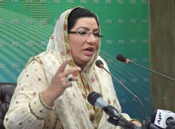 Prime Minister Imran Khan had effectively presented the Kashmir case at all international forums and won the hearts: Dr Firdous