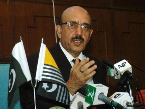 UNSC must act as India can orchestrate Pulwama-like drama to strike Pakistan: AJK President