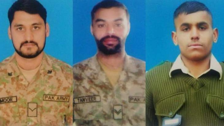 5 Indian troops killed, 3 Pak soldiers martyred in exchange of fire along LoC