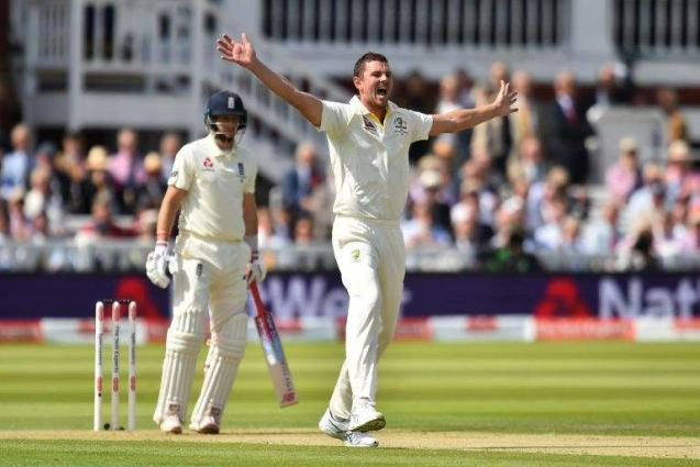 Hazlewood in the wickets on Ashes return