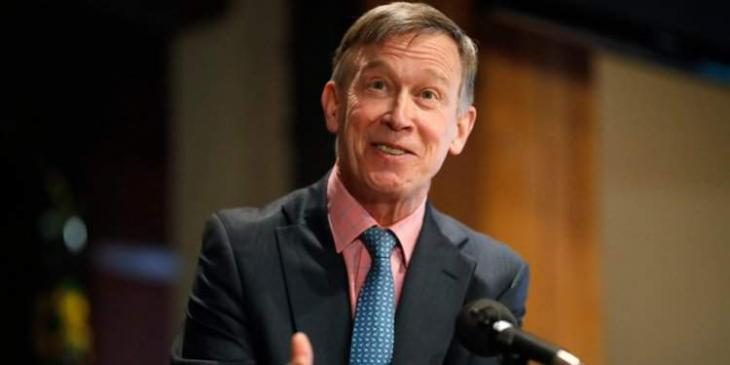 Hickenlooper withdraws from crowded Democratic race