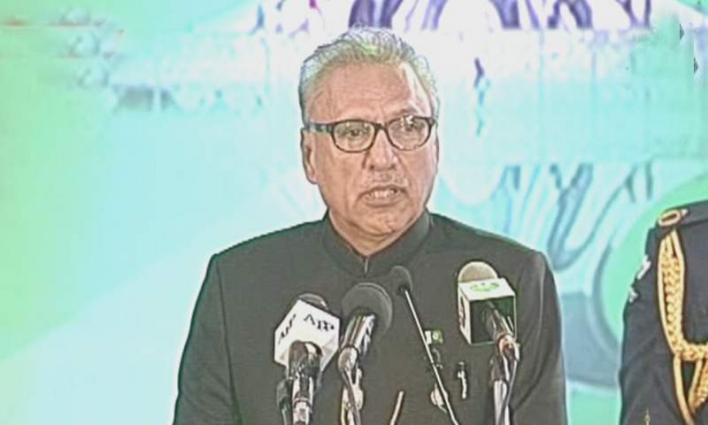 President Dr Arif Alvi urges world to take notice of Nazism ideology of India's ruling BJP