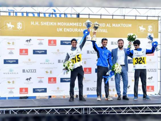 Emirati riders dominate Sheikh Mohammed bin Rashid Al Maktoum Endurance Cup Festival UK Endurance Masters