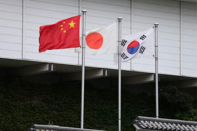 China, Japan, ROK FMs to meet in Beijing