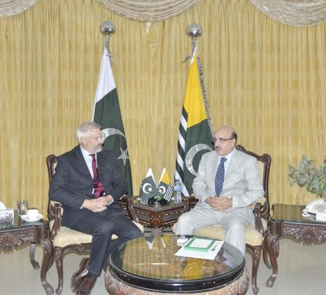 President Masood explores collaborations of AJK universities with international academic institutions