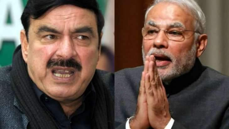 Modi is man of mad thinking: Sheikh Rashid